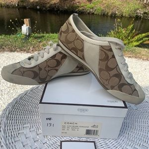 Coach used shoes size 8.5